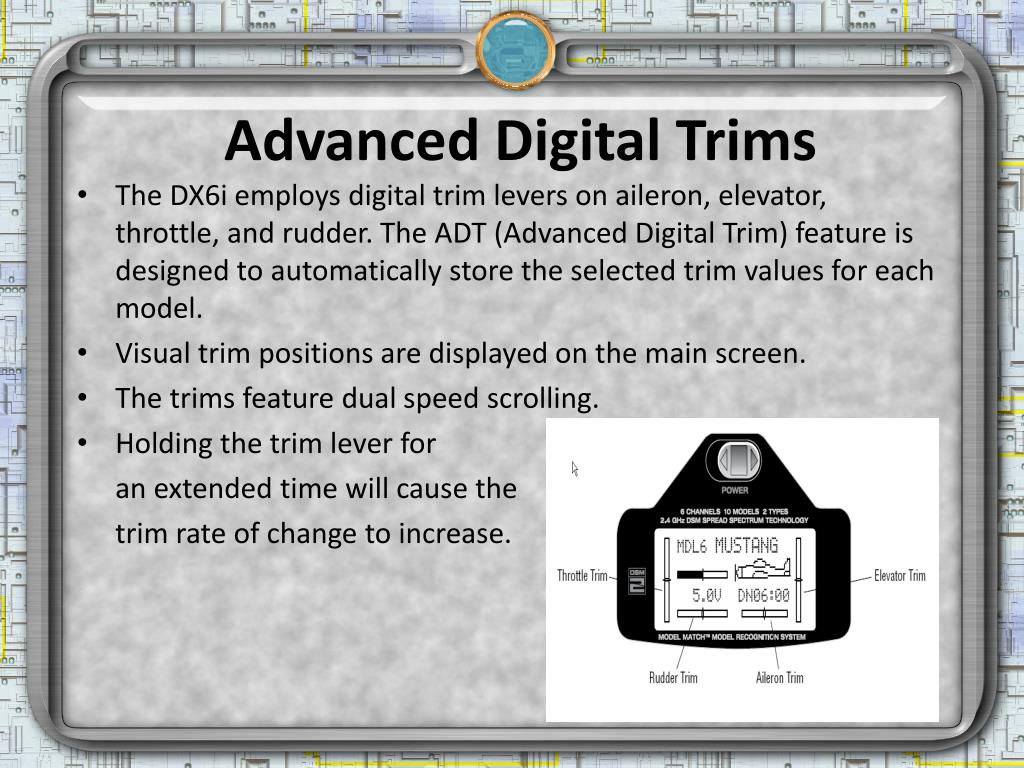 Advanced Digital Trims