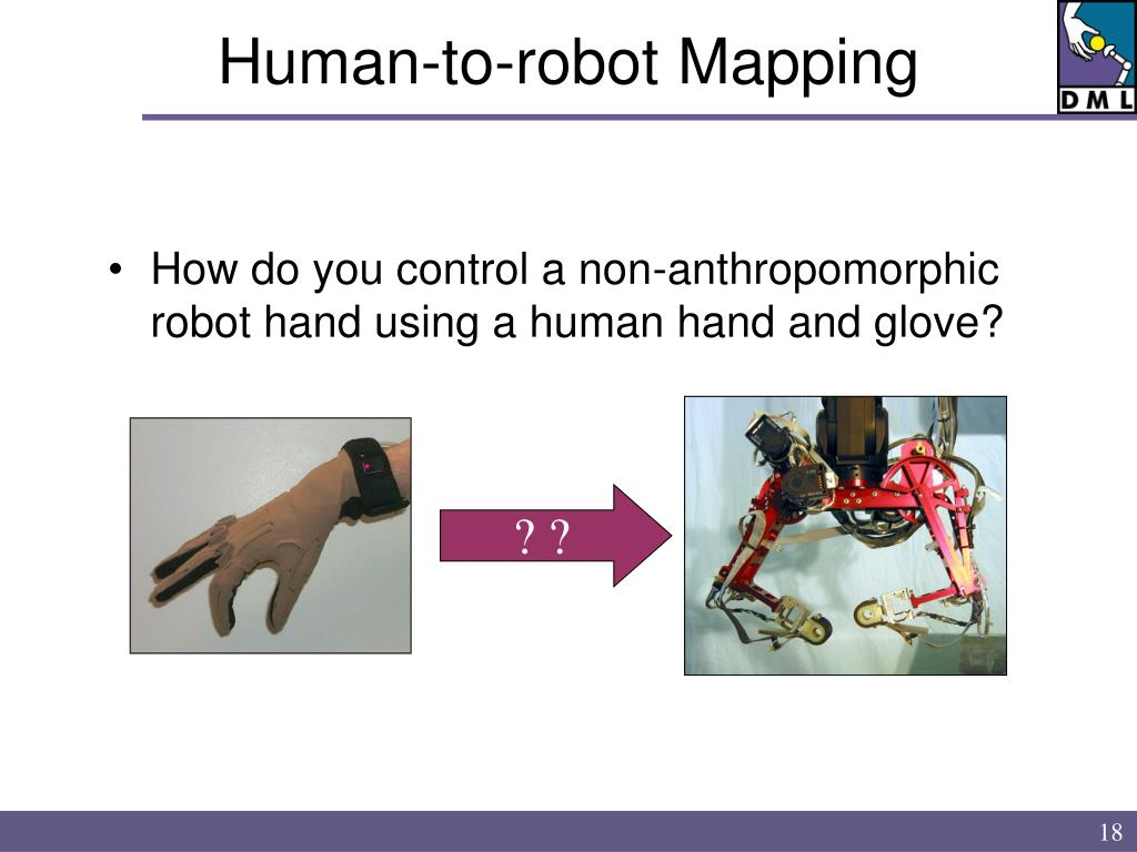 Human-to-robot Mapping