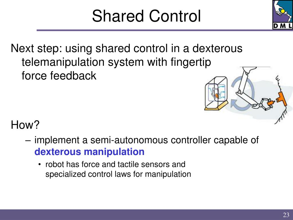 Shared Control