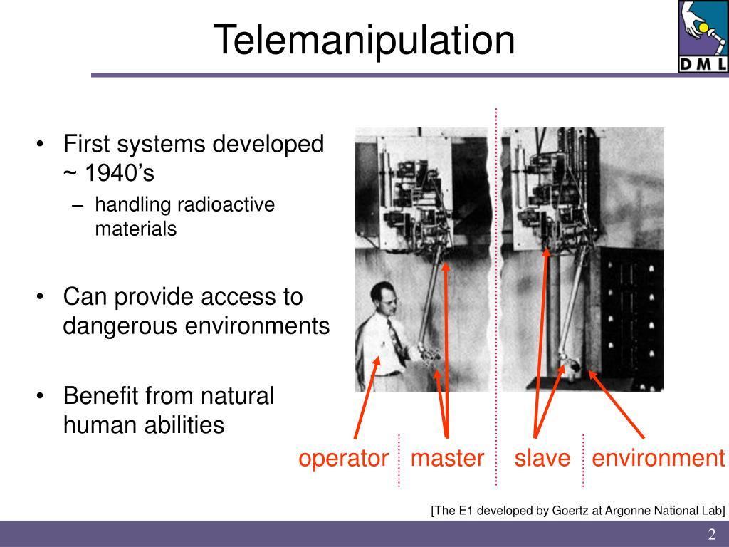Telemanipulation