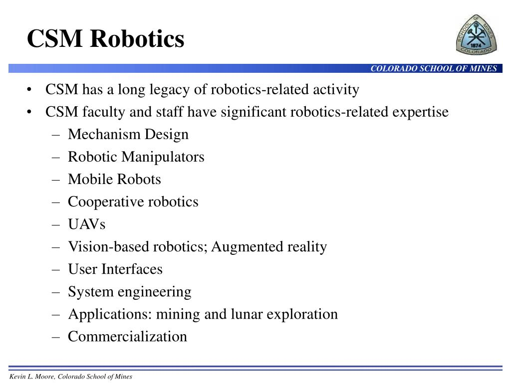 CSM Robotics