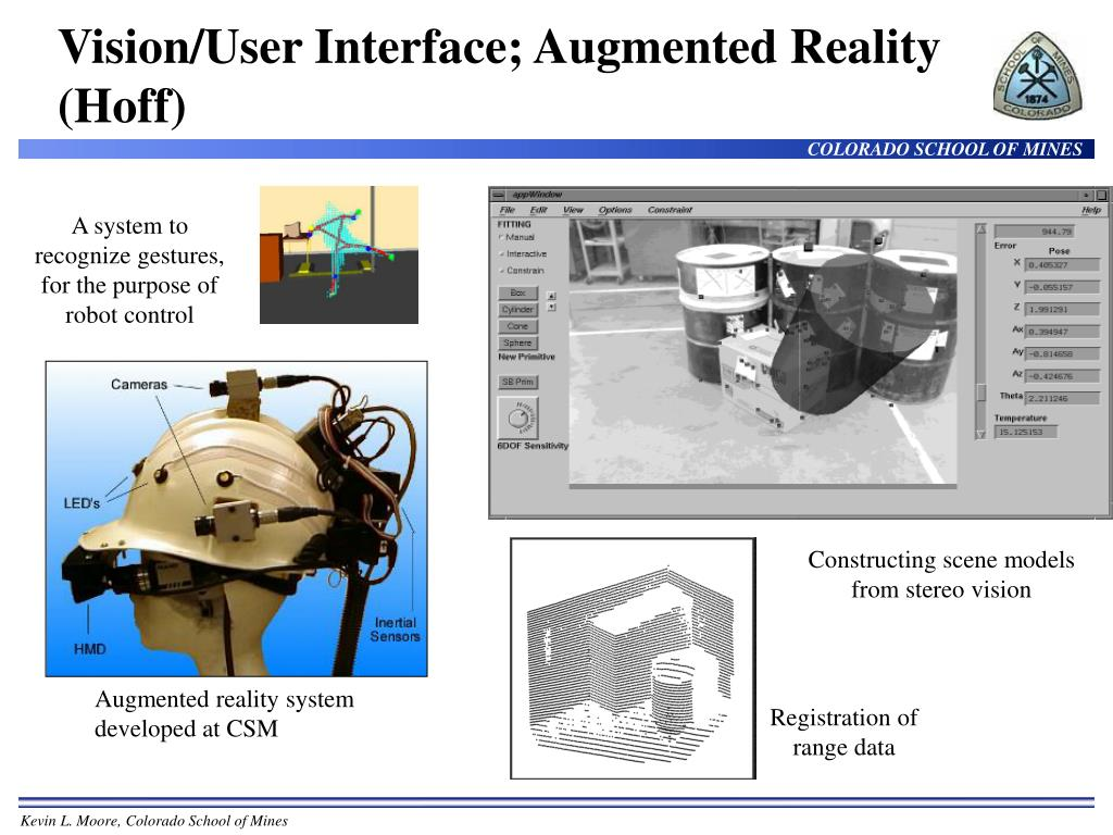 Vision/User Interface; Augmented Reality