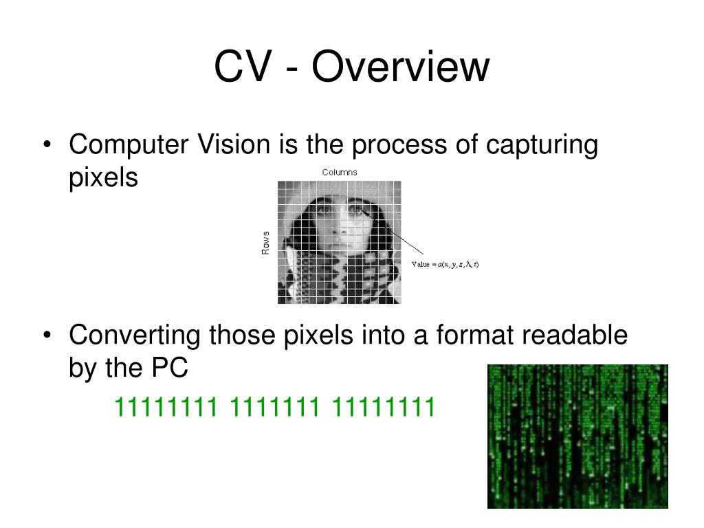 CV - Overview