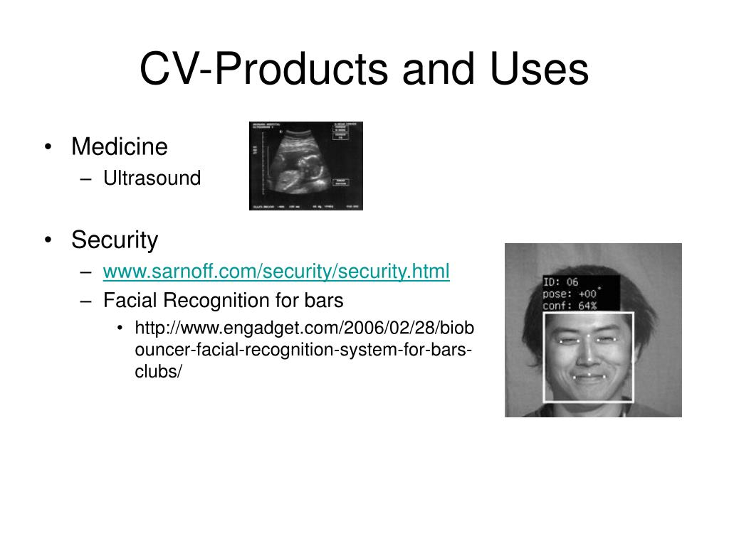 CV-Products and Uses