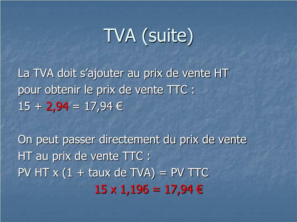 TVA (suite)