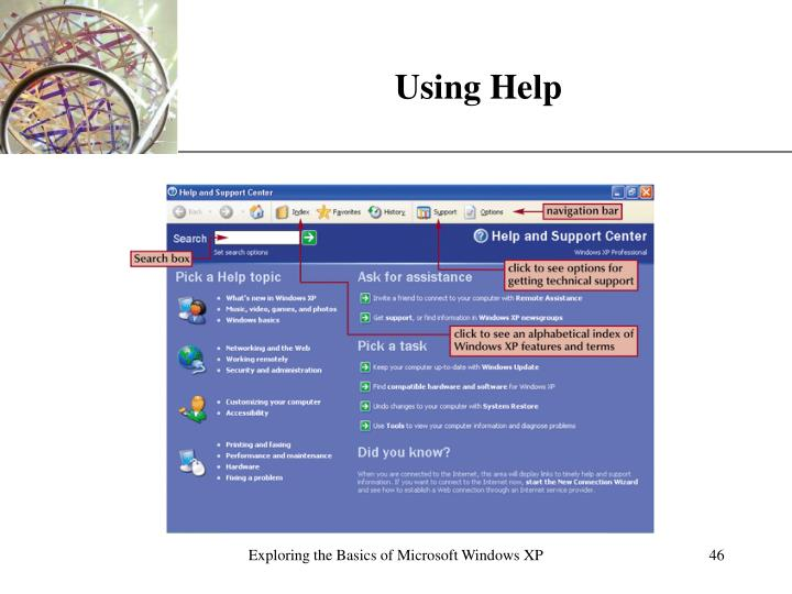 Using Help