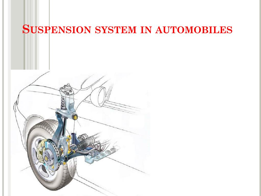 suspension system in automobiles