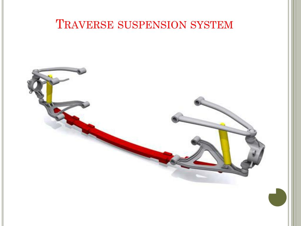 Traverse suspension system