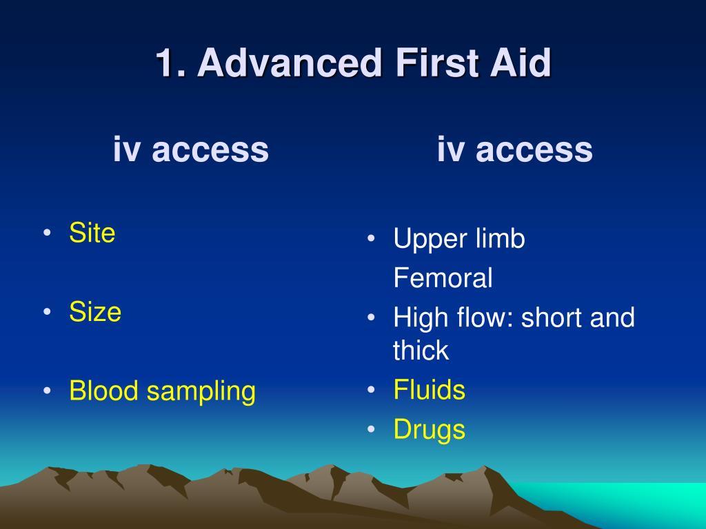 iv access
