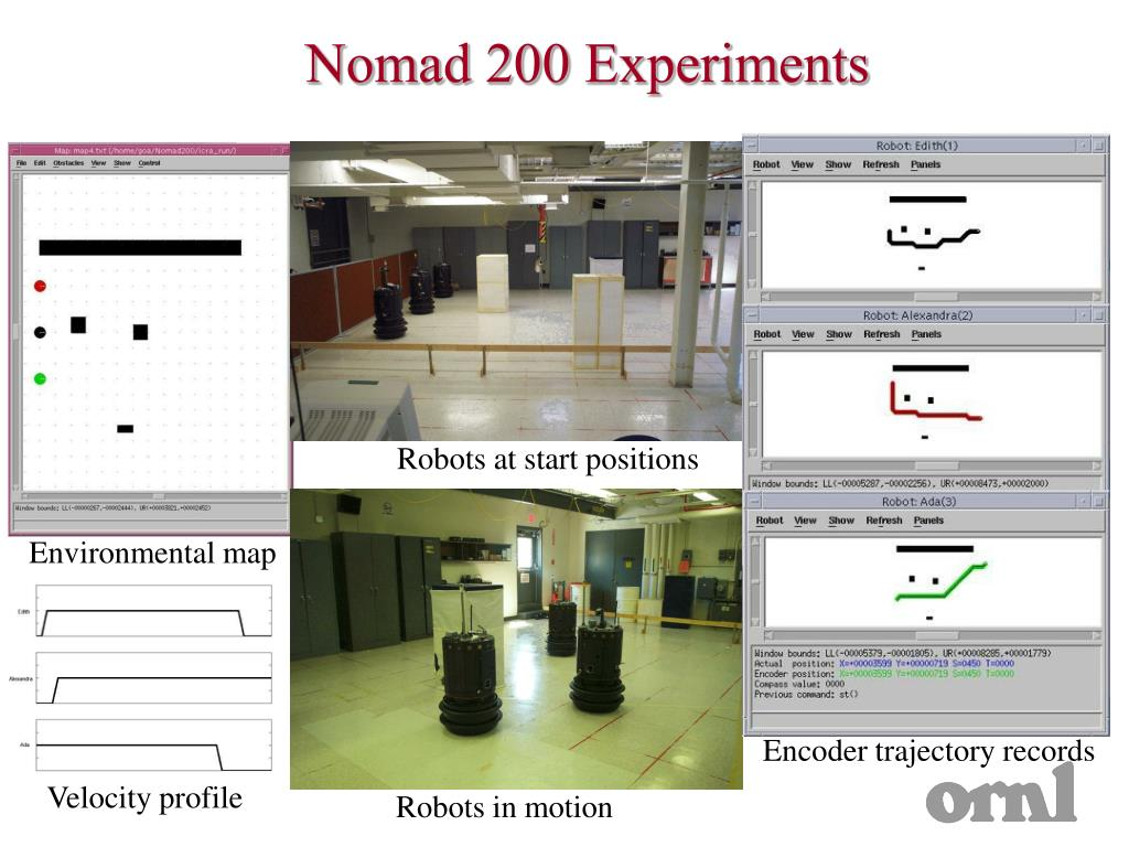 Nomad 200 Experiments