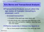 eric berne and transactional analysis15