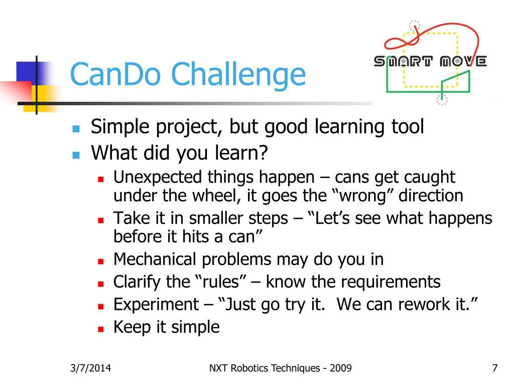 CanDo Challenge