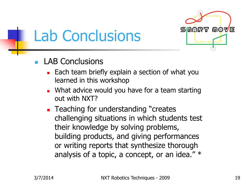 Lab Conclusions