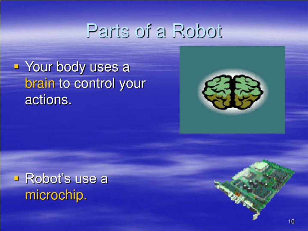 Parts of a Robot