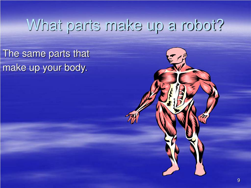 What parts make up a robot?