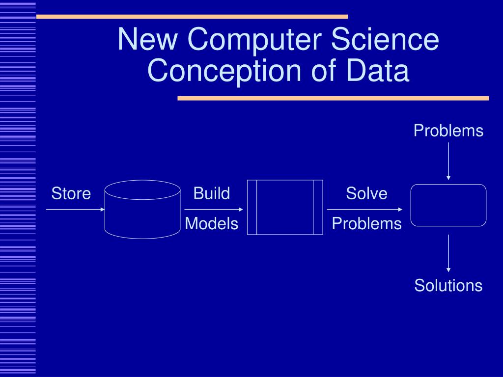New Computer Science Conception of Data