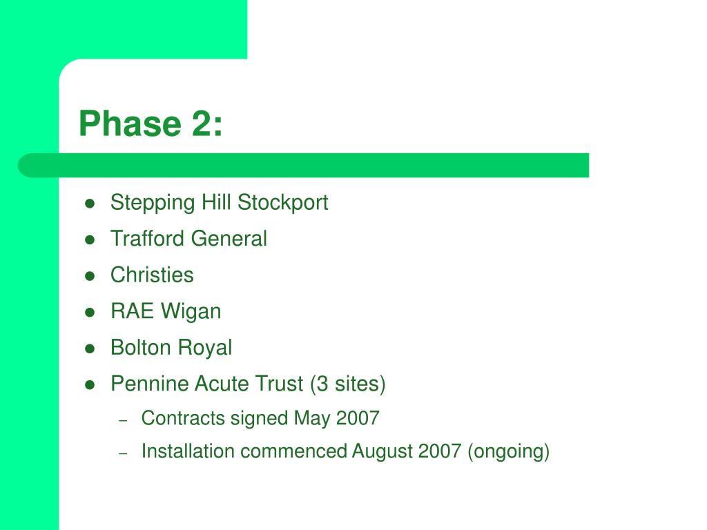 Phase 2: