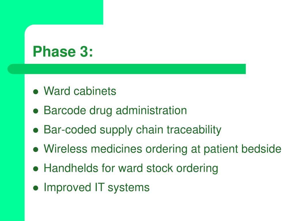 Phase 3: