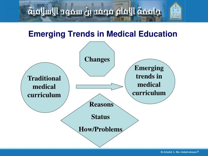 Emerging trends in medical education3