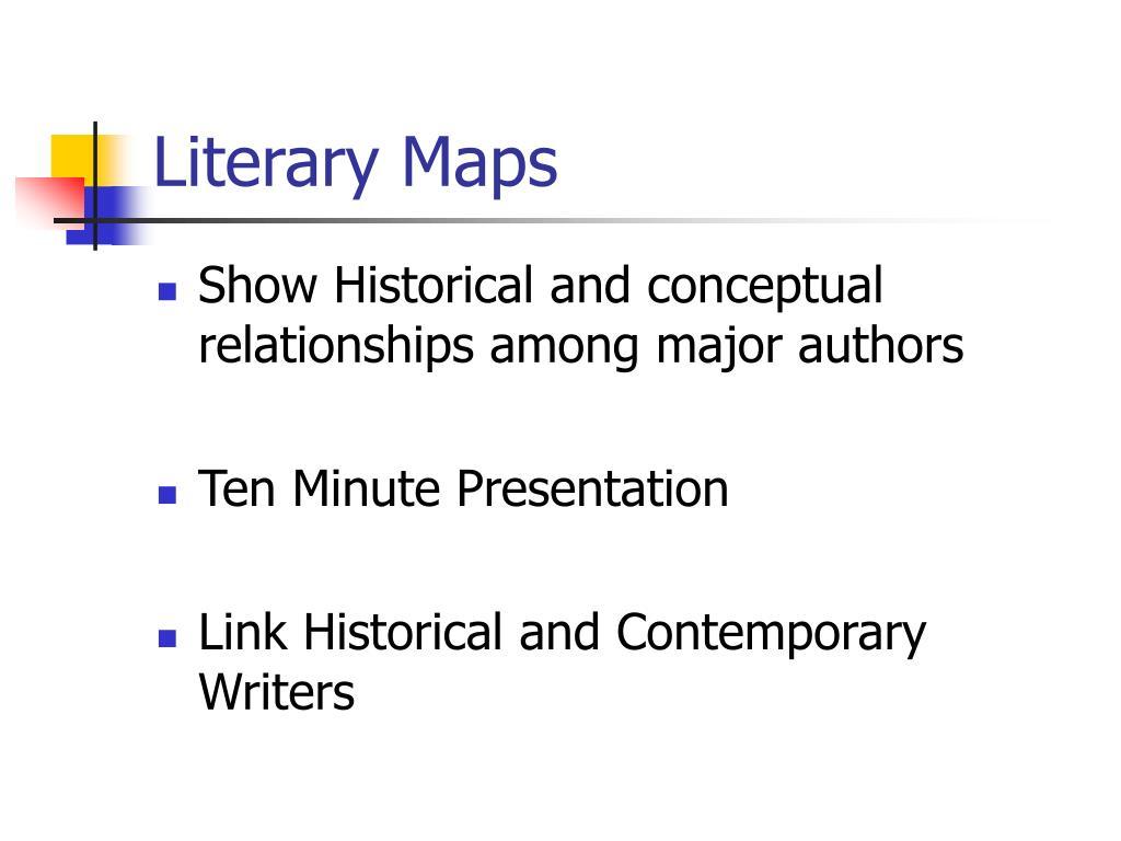 Literary Maps