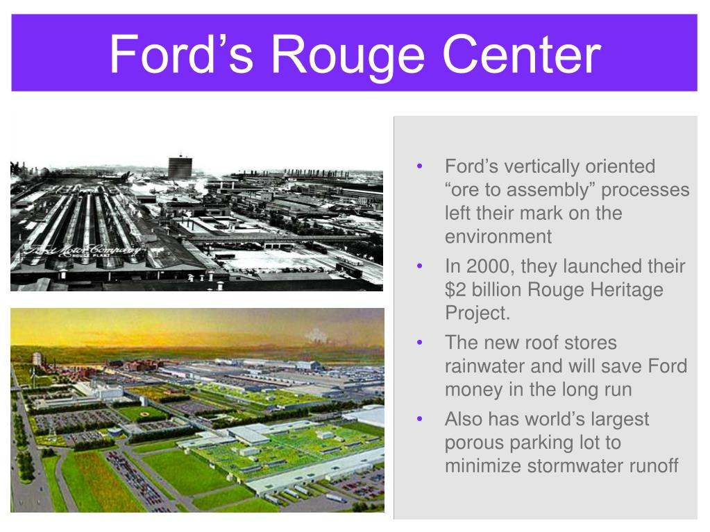 Ford's Rouge Center