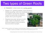 two types of green roofs5