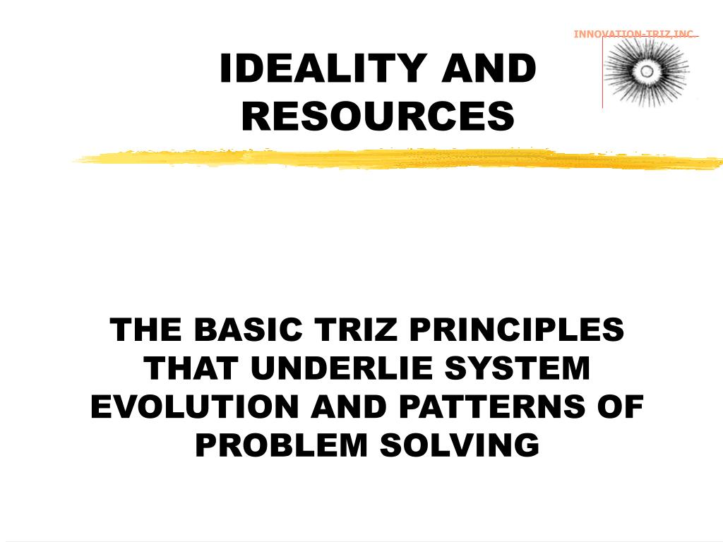 INNOVATION-TRIZ,INC.