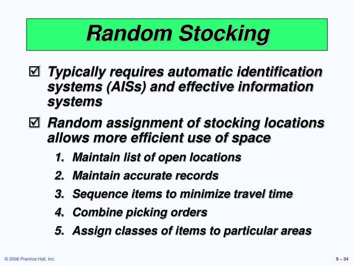 Random Stocking