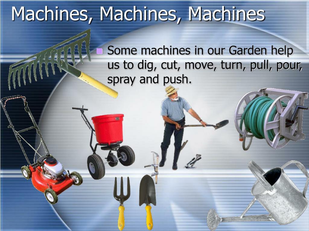 Machines, Machines, Machines