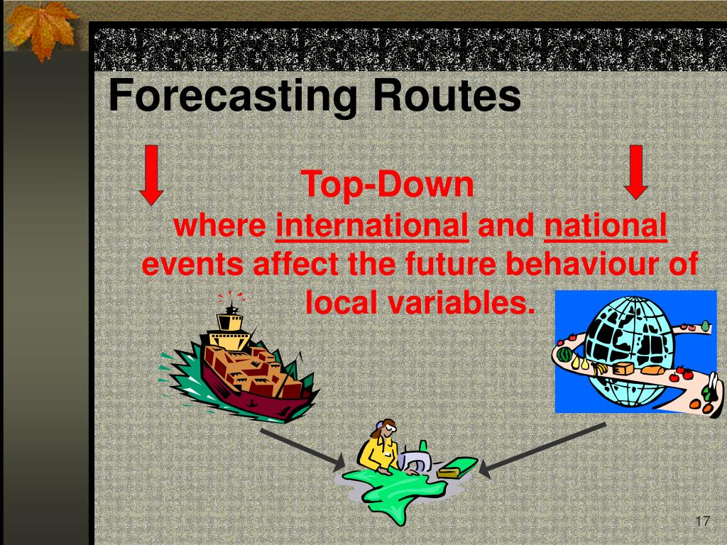 Forecasting Routes