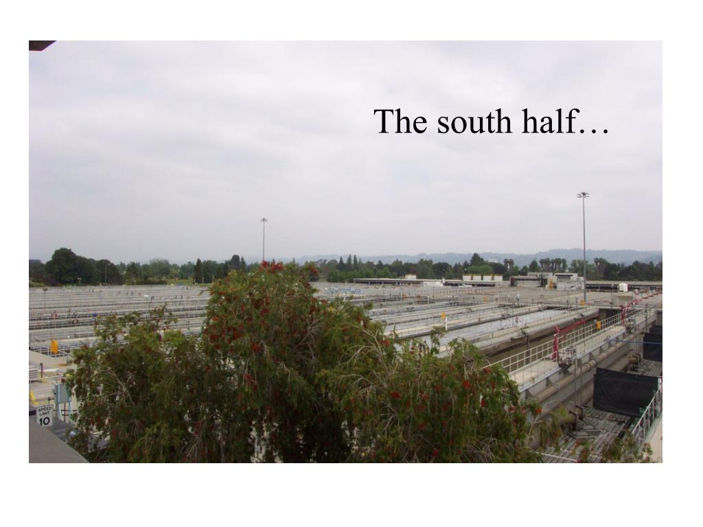 The south half…