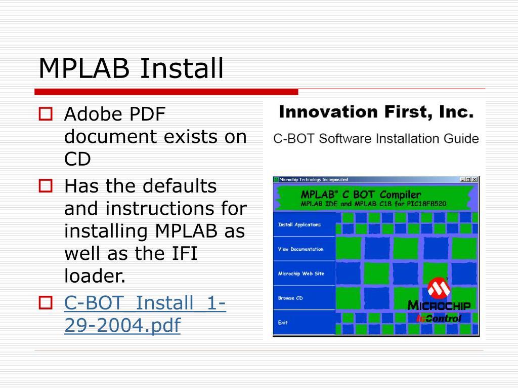 MPLAB Install