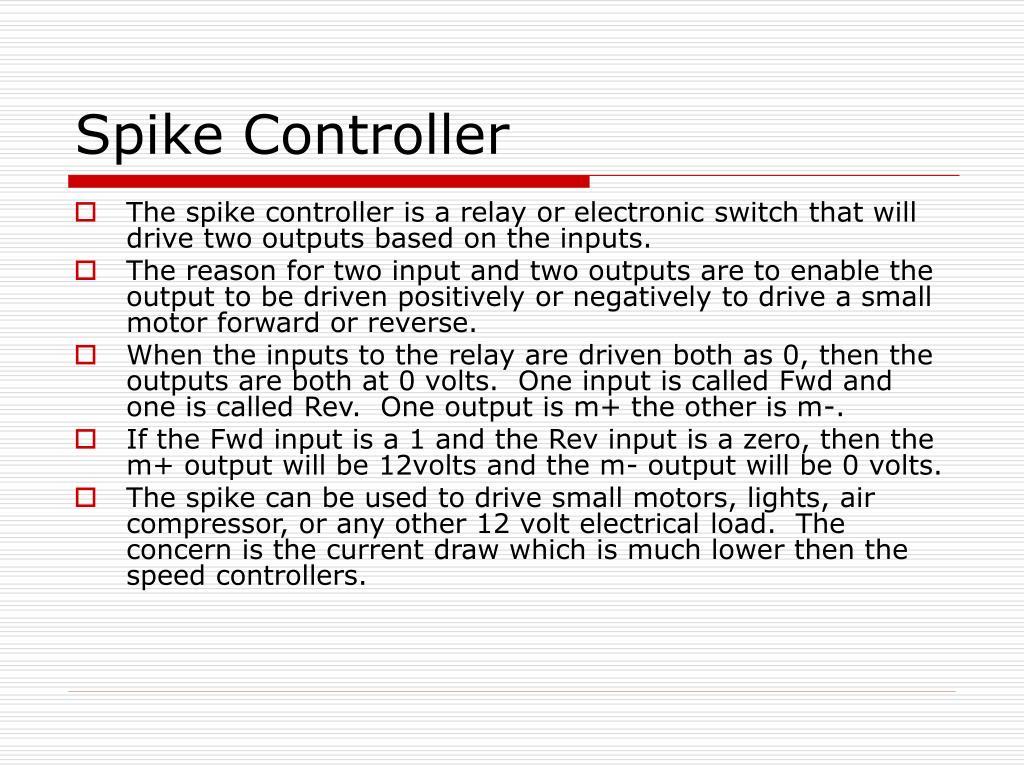 Spike Controller