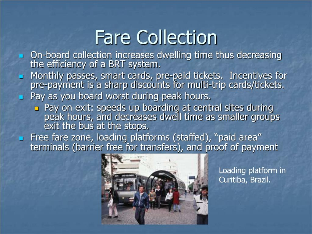 Fare Collection