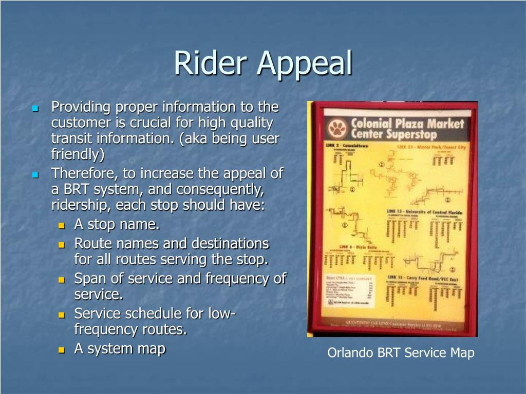 Rider Appeal