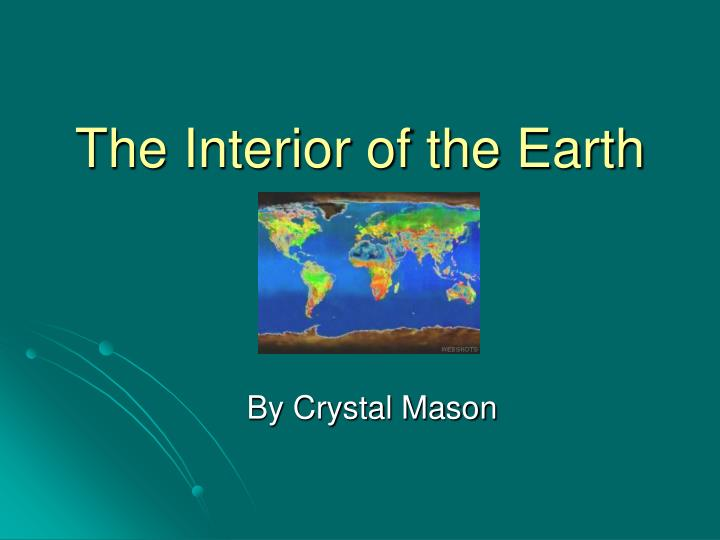 The interior of the earth l.jpg
