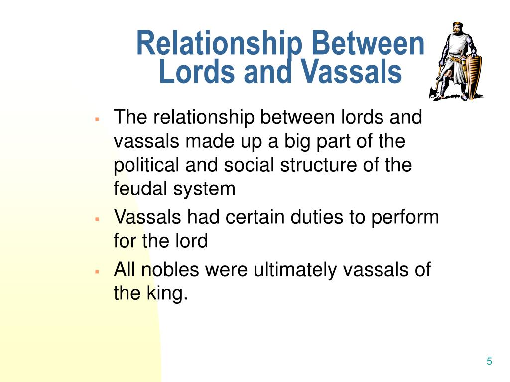 vassals and lords relationship with god