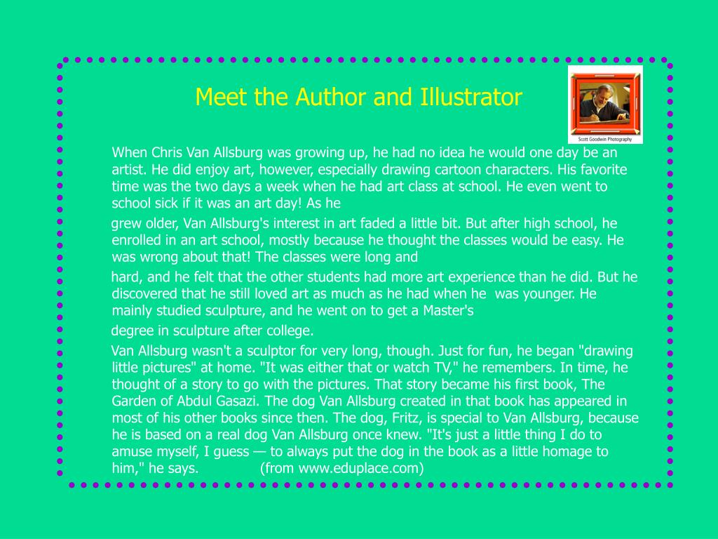Meet the Author and Illustrator