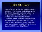 bygl 94 3 item8