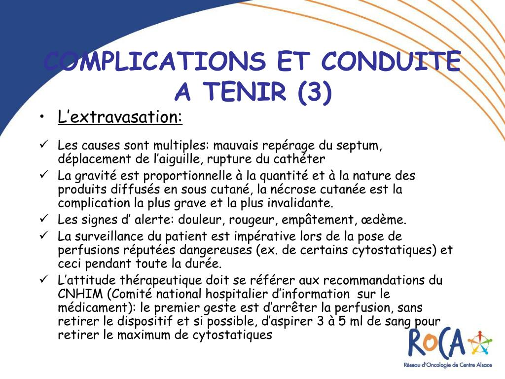 Ppt les chambres a catheter implantables cci - Rincage pulse chambre implantable ...