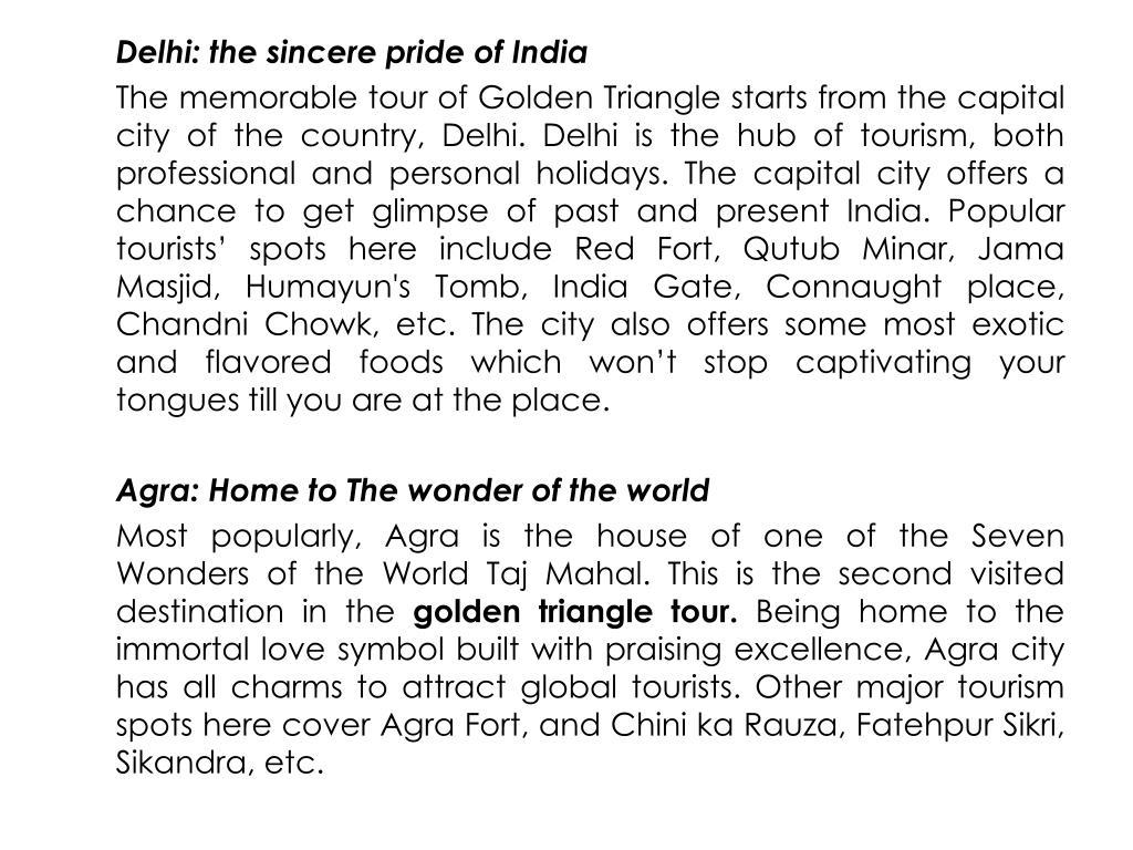Delhi: the sincere pride of India