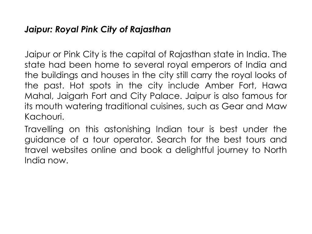 Jaipur: Royal Pink City of Rajasthan