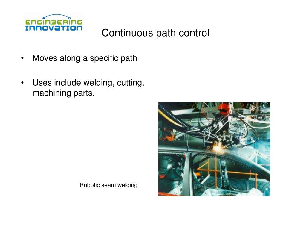 Continuous path control