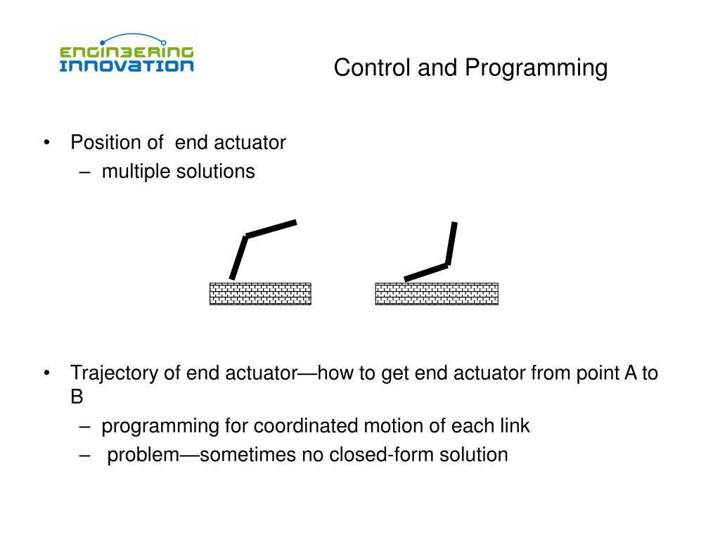 Control and Programming