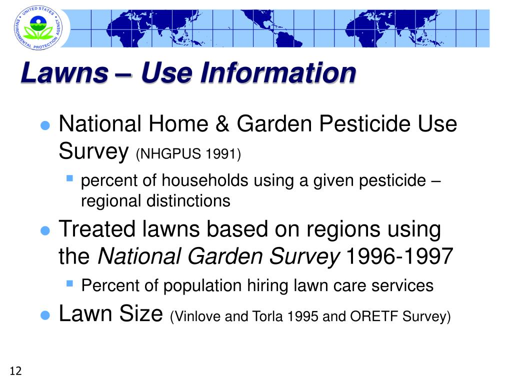 Lawns – Use Information