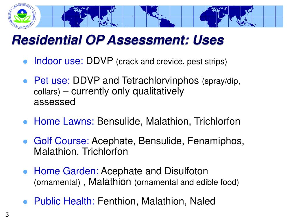 Residential OP Assessment: Uses