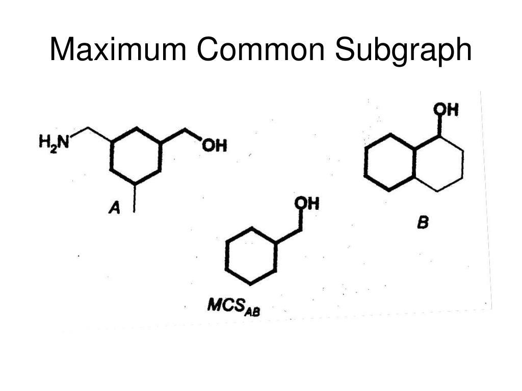 Maximum Common Subgraph