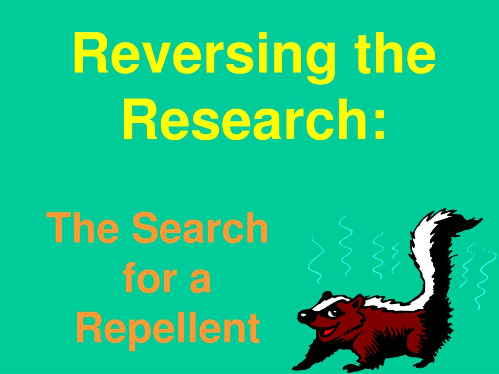 Reversing the Research: