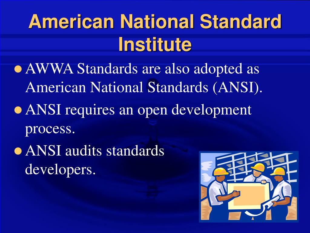 American National Standard Institute