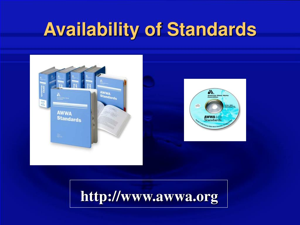 Availability of Standards
